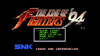 Screenshot Thumbnail / Media File 1 for King of Fighters '94, The (1994)(SNK)(Jp)[!][NGCD-055 MT B01]